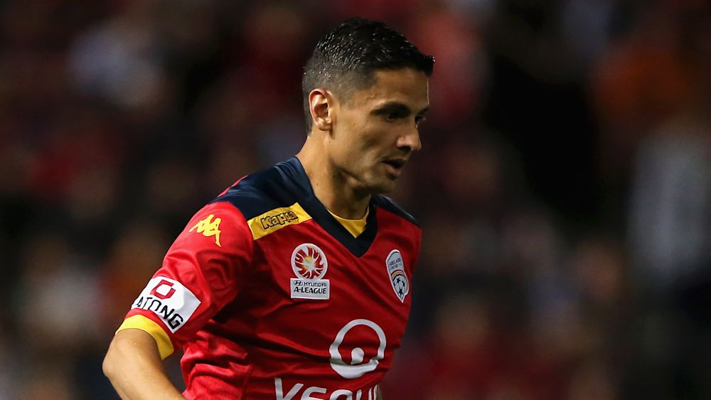 VIDEO: Adelaide star kicks door after contentious sending off