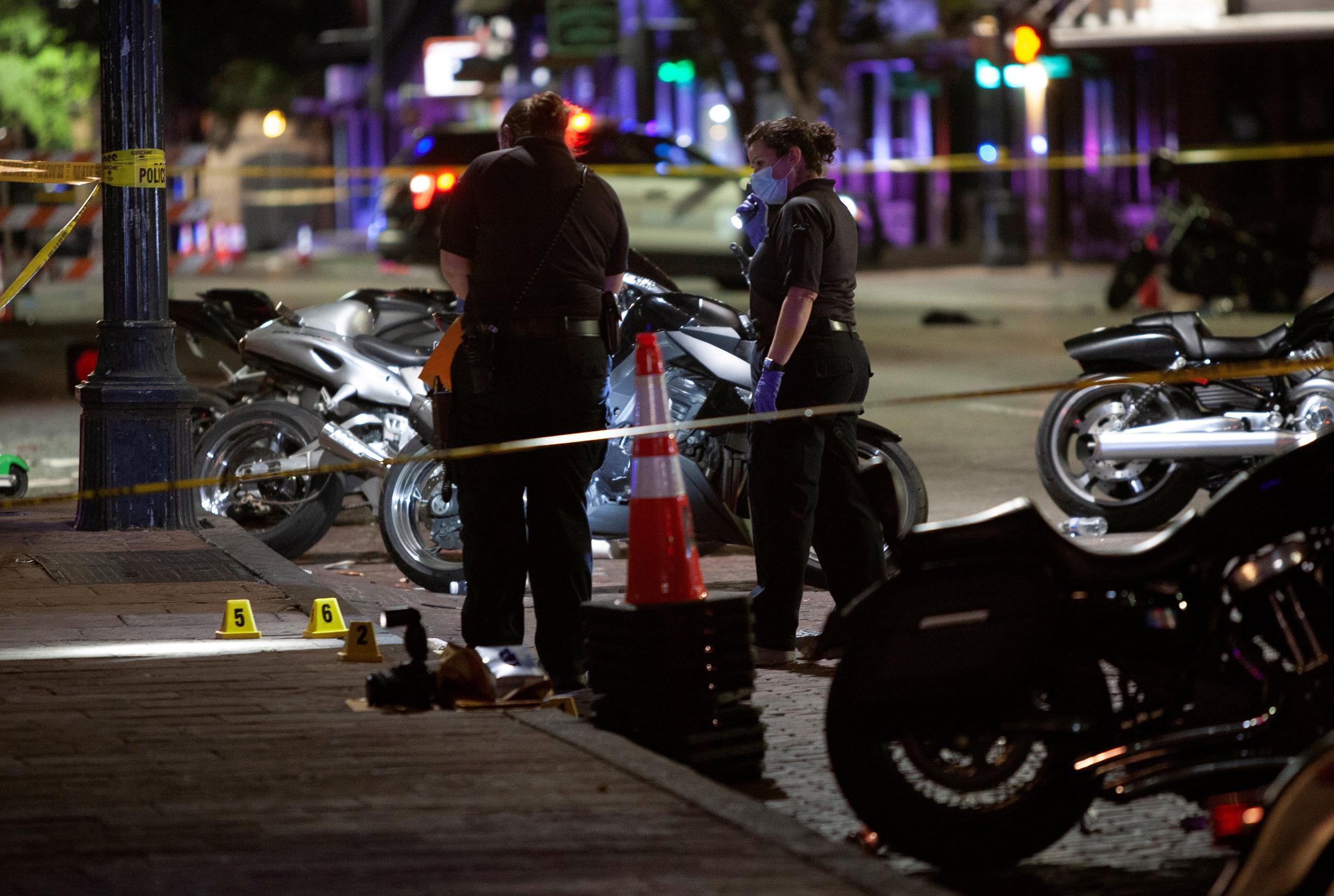 1 of 2 suspects in custody in Austin attack