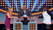 Boyz ll Men Singer Serenades Cheetah Girl on 'Celebrity Family Feud'