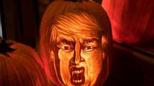 People are making Halloween horrifying again... With Trumpkins!