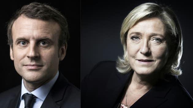 Présidentielle 2022: un sondage donne Macron et Le Pen au coude-à-coude au second tour