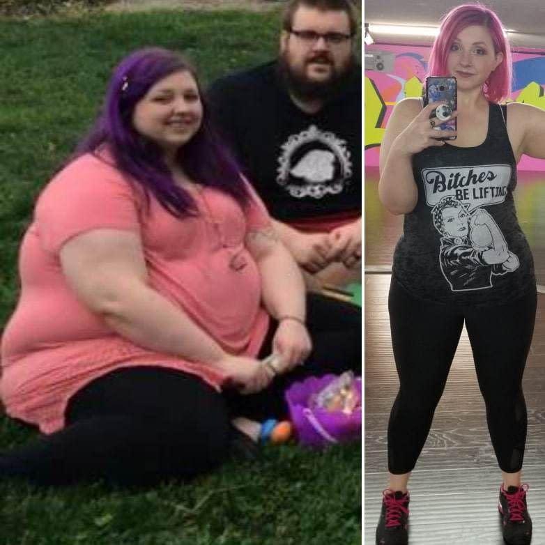 Die unglaubliche Verwandlung einer Frau, nachdem sie 60 kg