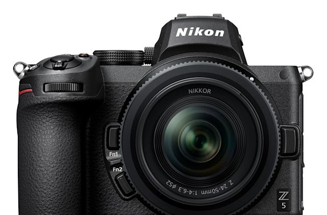 Nikon's full-frame Z5 camera offers in-body stabilization for $1,400