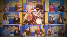 'GMA' staff does a blind coffee taste test for National Coffee Day