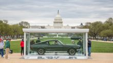 Bullitt Mustang joins other American icons on National Mall in D.C.