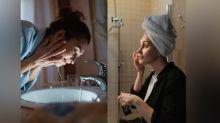 Night time anti aging skin care