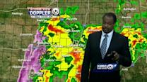 Thursday should start soggy, stay cool