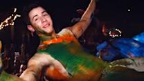 Nick Jonas NEW 'Chains' Music Video - Miami Paint Party!