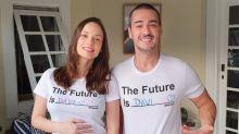 Marcos Veras e Rosanne Mulholland escolhem nome do primeiro filho
