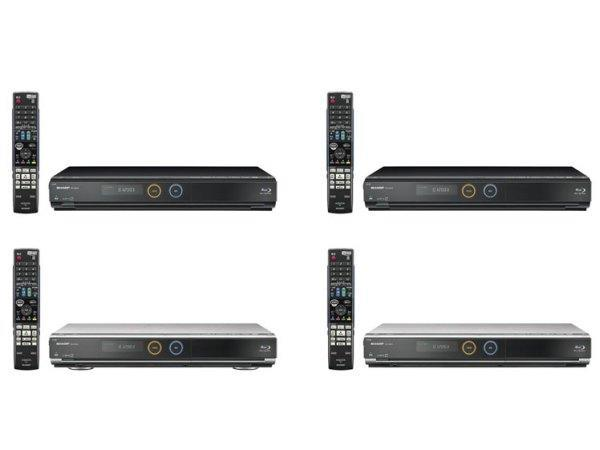 Four new Aquos Blu-ray DVRs on the way from Sharp