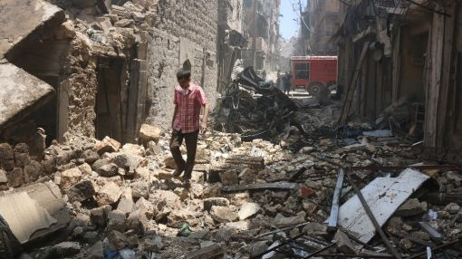 Four hospitals hit by air raids in Syria's Aleppo