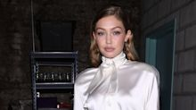 Gigi Hadid Rocks Victoriana Chic At VS Book Launch