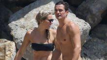 Orlando Bloom con otra mujer en la playa tras ser visto con Katy Perry