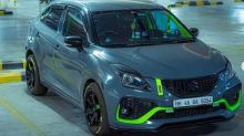 This Modified Maruti Suzuki Baleno With Lime and Green Paint is All About Stylish Looks