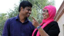 Nove anos após sofrer queimaduras graves, mulher fica noiva no Dia dos Namorados