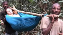Ashley Judd shares new photos from 'grueling' 55-hour rescue after breaking leg in Congo rainforest