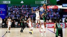 Watch Bam Adebayo's insane block of Jayson Tatum on more time