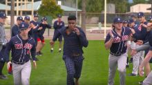 This college baseball team's re-creation of 'Major League' is tremendous