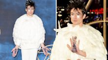 Hedwig or Zoolander? The internet is having a field day with Ezra Miller's latest outfit