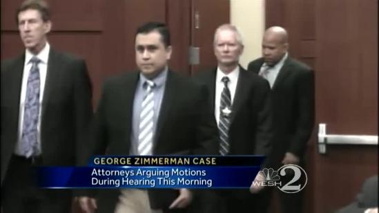 Zimmerman case back in court today