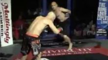 Fighter 'turns into zombie' after brutal KO punch