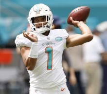Dolphins QB Tua Tagovailoa finally makes NFL debut, his first game since hip injury at Alabama
