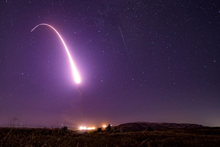 Prototype Missile Launched from Vandenberg AFB by Defense Department