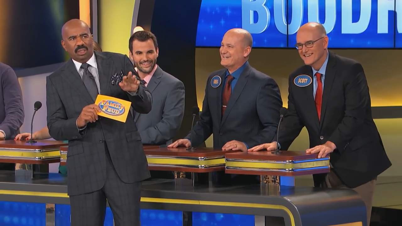Is family feud filmed in georgia - Steve Harvey Deems Family Feud Contestant S Answer Too Intelligent Video