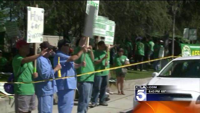 Patients Feel the Pain During Hospital Workers Strike