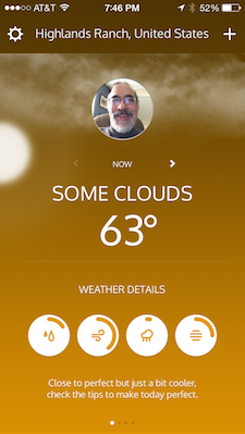 Klyme: A colorful way to look at your local weather