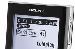Delphi's SkyFi3: the first portable XM radio and MP3 player with removable storage