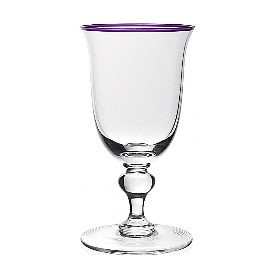 "Siena wineglass; $63. <a href=""https://us.williamyeowardcrystal.com/siena-wine-amethyst"" rel=""nofollow noopener"" target=""_blank"" data-ylk=""slk:Williamyeoward crystal.com"" class=""link rapid-noclick-resp"">Williamyeoward crystal.com</a>"