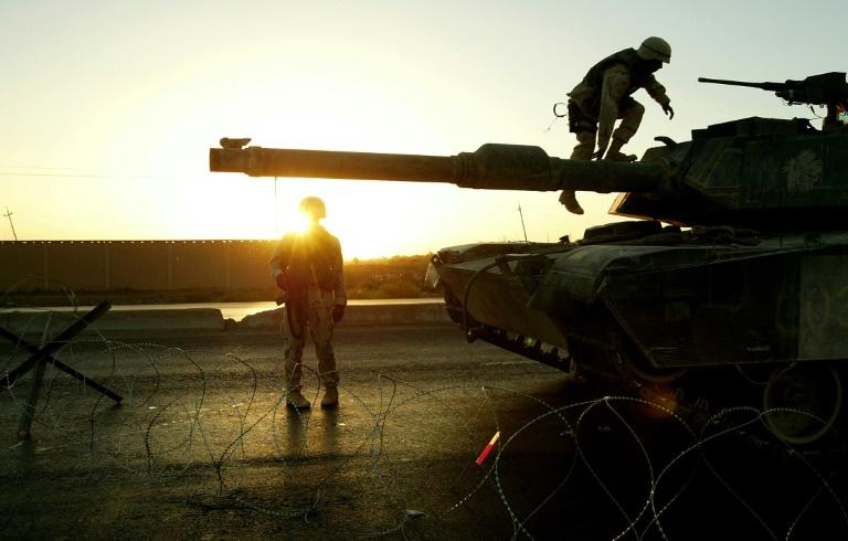 The US has had troops stationed in Iraq for most of the past two decades (AFP Photo/THOMAS COEX)