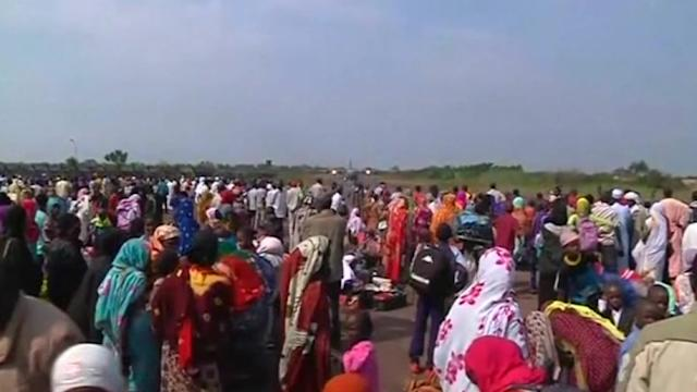 Hundreds flee Central African Republic as violence continues