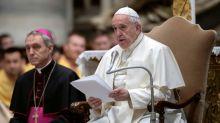 Papa defende 'conversão ecológica integral', em mensagem de paz anual