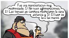 Ese plantón anti-AMLO es lo más ejemplar que se ha visto en la historia de México