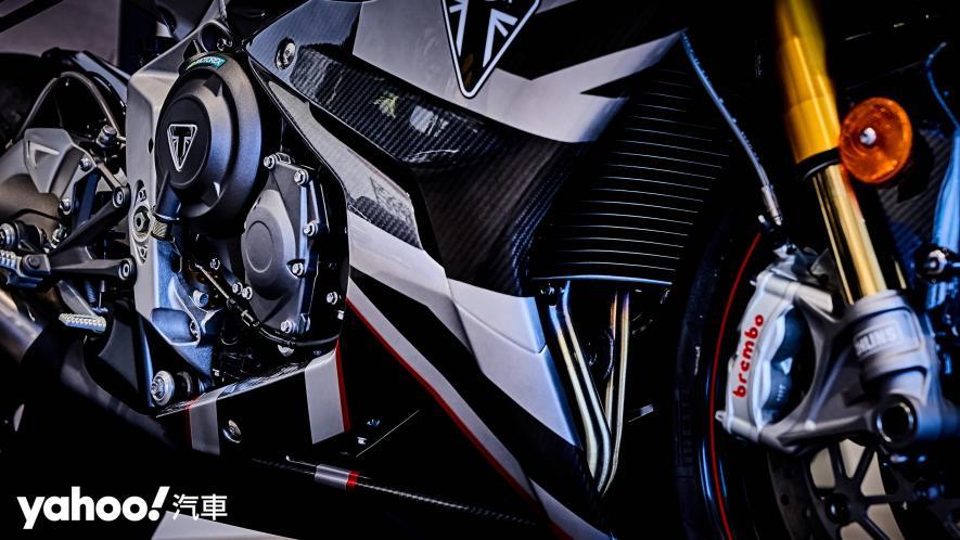 唯一官方認可道路化廠車!Triumph Daytona Moto2 765 Limited Edition實車鑑賞! - 13