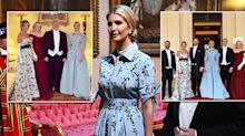 Four of Donald Trump's children attend state banquet at Buckingham Palace