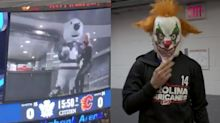 Leafs and Hurricanes show off their verticals in Halloween scare cam videos