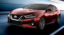 2019 Nissan Maxima teased before LA debut