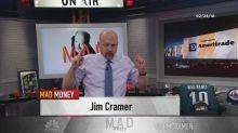 Cramer's lightning round: Nokia has become a good spec. I...