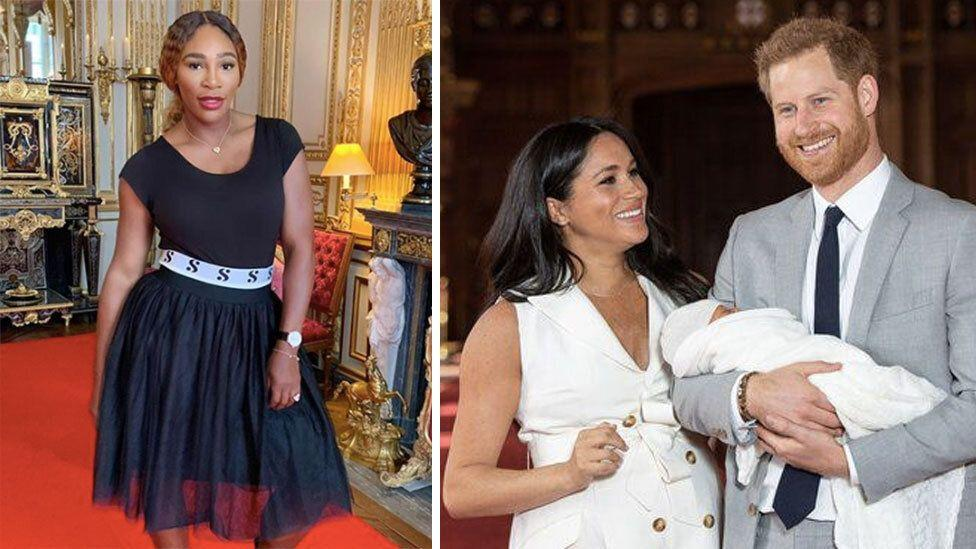 Serena Williams among the first of Meghan's friends to visit baby Archie
