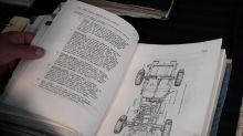 'Tanks' for the memories: Retired soldier donates maintenance manuals