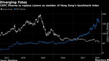Lenovo Slides After Decision to Drop Stock From Hang Seng Index