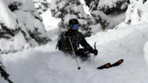 Woman rescued after being buried by avalanche
