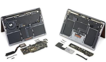 iFixit 發現 M1 MacBook 的內構沒有什麼改動