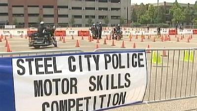 Pittsburgh Police Compete In Motor Skills Competition