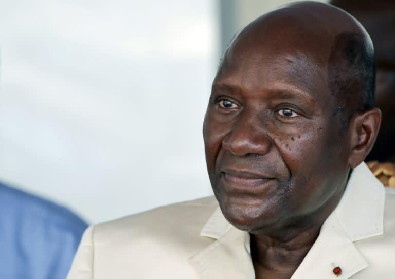 Resignation: Ivory Coast's vice president, Daniel Kablan Duncan (AFP Photo/SIA KAMBOU)
