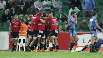 Rugby Union: Lions maintain fine form, Chiefs pushed by Sunwolves