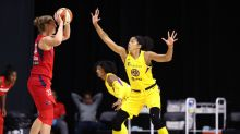 Candace Parker is the WNBA Defensive Player of the Year